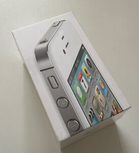 New Sealed Old Stock Apple iPhone 4s 16gb 5th Generation - Rare