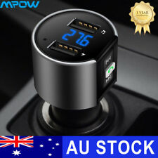 Handsfree Wireless Bluetooth Car FM Transmitter MP3 Music Player Adapter USB New