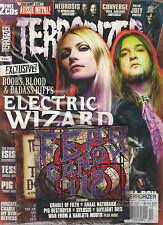 TERRORIZER UK #228 October 2012 ELECTRIC WIZARD Killer JOEY POSTER + 2 CD's RARE