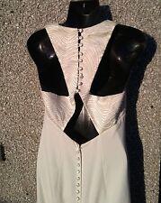 Women's Size 12 Victoria Jane By Ronald Joyce Ivory Embellished Wedding Dress