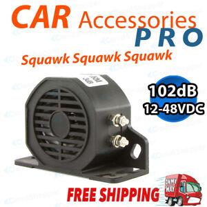 102Db Universal Squawker Reverse Buzzer Beeper Backup for Truck Warning Alarm AU