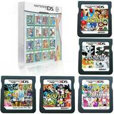 NEW 520/500/482/468/208 in 1 Video Games Cards Cartridges For NDS NDSL 3DS NDSI