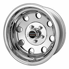 American Racing 15x8 AR172 Baja Wheel Polished 5x4.5 / 5x114.3 -19mm 3.75""