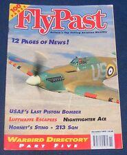 FLYPAST MAGAZINE NOVEMBER 1995 - USAF'S LAST PISTON BOMBER/NIGHTFIGHTER ACE