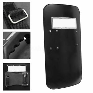 Military Tactical Anti-Riot Shield Police Protect Self Guard Handheld Rectangle