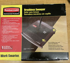 """NEW RUBBERMAID Brushless Mechanical Sweeper,7-1/2"""", Brand New Boxed"""