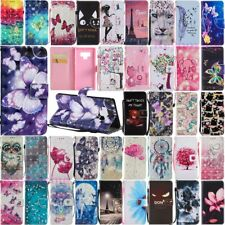 For Samsung Galaxy Note 8 9 10 Plus Magnetic Flip Leather Card Wallet Case Cover