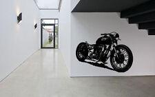 Wall Decor Art Vinyl Sticker Mural Decal Vintage Retro Motorcycle Bike SA583