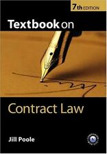 Textbook on Contract Law,Jill Poole