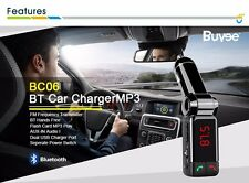 Bluetooth sans fil voiture FM transmetteur MP3 usb lcd téléphone mains libres FR