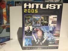 Hitlist 2005 The most wanted games for PC brand new in cellophane