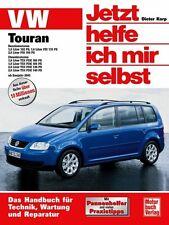 VW TOURAN Reparaturanleitung Reparatur-Buch Jetzt helfe ich mir selbst Handbuch