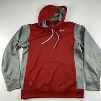 Nike Therma-Fit  KO Crew Men/'s Pullover Style 443950-648 Red