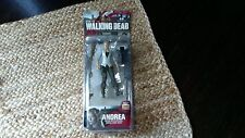 Brand New.....Andrea The Walking Dead Action Figure Series 4 by. McFarlane