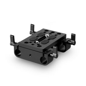 SmallRig Camera Baseplate with 15mm Rod Clamp Railblock DSLR Rig Rod Support