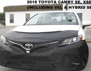 Lebra Front End Mask Cover Bra Fits Toyota Camry 2018-2020 SE,XSE & Hybrid SE