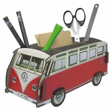 VW VOLKSWAGEN COMBI T1 SAMBA POT CRAYON BOIS / WOOD PENCIL-BOX / HOLZ STIFTEBOX