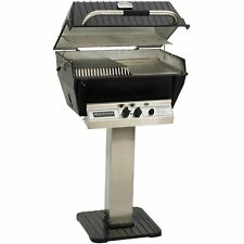 Broilmaster P3-sxn Super Premium Natural Gas Grill On Stainless Steel Patio P.