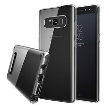 Samsung Galaxy Note 8 Case New Slim Transparent Crystal Clear Hard TPU Cover