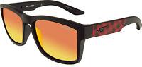 Arnette Men's Mirrored Turf AN4220-23466Q-57 Black Square Sunglasses