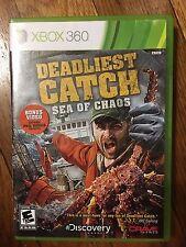 Deadliest Catch: Sea of Chaos (Microsoft Xbox 360, 2010) Complete