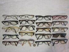 Mix Lot of 20 D&G-Carrera-Bvlgari-AO-miu miu-OGI-Mikli-Swank-more Eyeglasses BIG