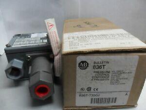 New Allen Bradley 836T-T350J Pressure Control Switch Series A NIB
