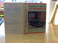 Observers Book Of Automobiles 1966 USA Edition