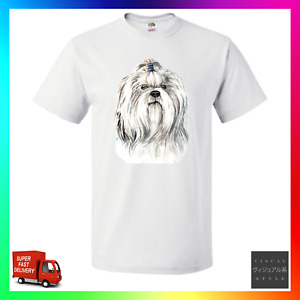 Shih Tzu TShirt T-Shirt Tee Dog Doge Pup Puppy Pupper Breeder Walker Cute Tsu