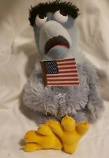 Sam Eagle Muppet Vision 3D Plush Jim Henson Disney World WDW Toy Muppets