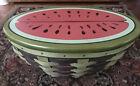 longaberger watermelon basket collectors club New!