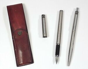 Pelikan Füller und Kugelschreiber Edelstahl