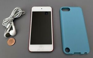 Apple, [RED] iPod Touch (5th Gen) / 32GB / MD749LL/A, + bundled items