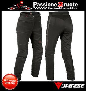 Trousers Dainese Sherman Pro Lady Woman Black D-Dry Pants Waterproof Motorcycle