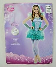 Disney Princess Ladies Juniors Ariel Halloween Fantasy Costume Size M 7-9 New