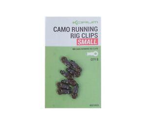 Korum Camo Running Rig Clips Small