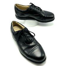 Nike Air Comfort Golf Shoes Womens Size 9 Black Verdana Last Champion Cleats