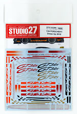 Studio27 ST27-DC868 GT3R Porsche911 Dress Up Decal 2010 for Fujimi 1/24
