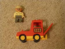 LEGO DUPLO ZOO auto con carcerieri