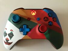 Microsoft Xbox One S Wireless Controller - Custom Joker With Red LED