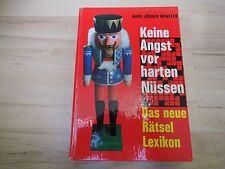 Keine Angst vor harten Nüssen – Das neue Rätsel-Lexikon – H. J. Winkler – 1965