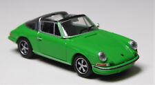 H0 BREKINA Personenkraftwagen Porsche 911 Targa freshgreen offenes Dach # 16264