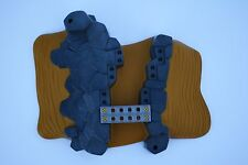 Playmobil #4421 Base Plate All Terrain Sand Rock Ravine Dessert Metal Bridge