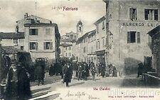 * FABRIANO - Via Cialdini 1906