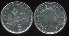 ROYAUME UNI   five   5  pence  2005  ( bis )