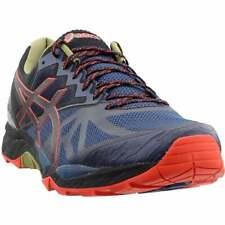 ASICS GEL-Fujitrabuco 6 Men's Running Shoes -  Insignia Blue/Black/Red Clay, US 9.5