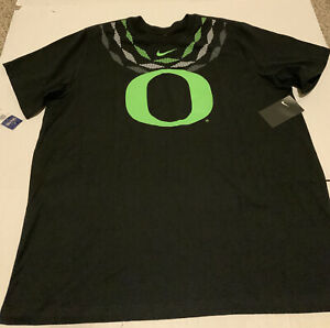 Oregon Ducks Ohana Nike Shirt Black Men's Size: 3XL NWT Rare Black/Green 2020