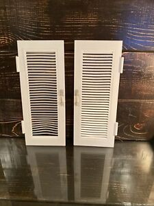 2006 Mattel Replacement Front Louver Doors for Barbie Doll Dream Dollhouse House