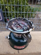 New listing 6/85 Coleman 502 Sportster Single Burner Camping Backpacking White Gas Stove