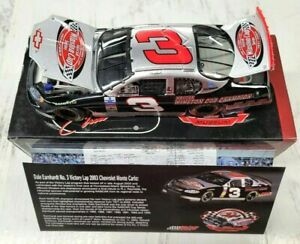 2003 Action 1/32 Dale Earnhardt #3GM Goodwrench Victory Lap Released 2005